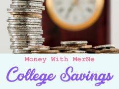 College saving advice