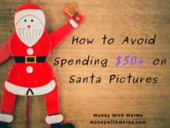 You don't have to spend a lot to get pictures with Santa. Follow these tips to save money!