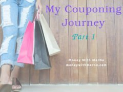 I've began my journey into couponing.