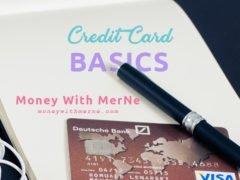 Credit Card Basics